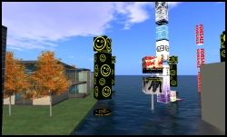 Ad Farm in Second Life