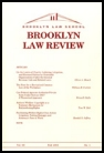Brooklyn Law Review Cover