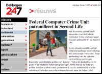 Belgian Newspaper Reporting on Alleged Vitual Rape
