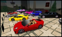 Ferraris in Second Life
