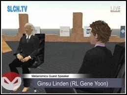 Gene Yoon as 'Ginsu Linden' on Metanomics