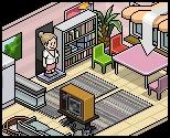 Habbo Hotel Room