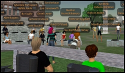 Harvard Extension Class Second Life