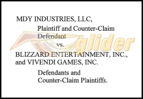 MDY v. Blizzard Caption