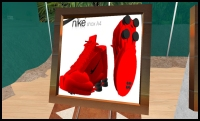 Knock-off 'Nike' Shox in Second Life