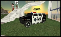 Second Life Police Vehicle