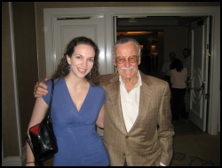 Thayer Preece and Stan Lee