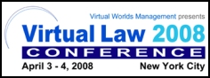 Virtual Law 2008 Conference Logo