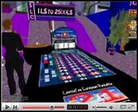 Still from YouTube Gambling Video